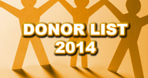 Al hassan foundation Donor List 2014